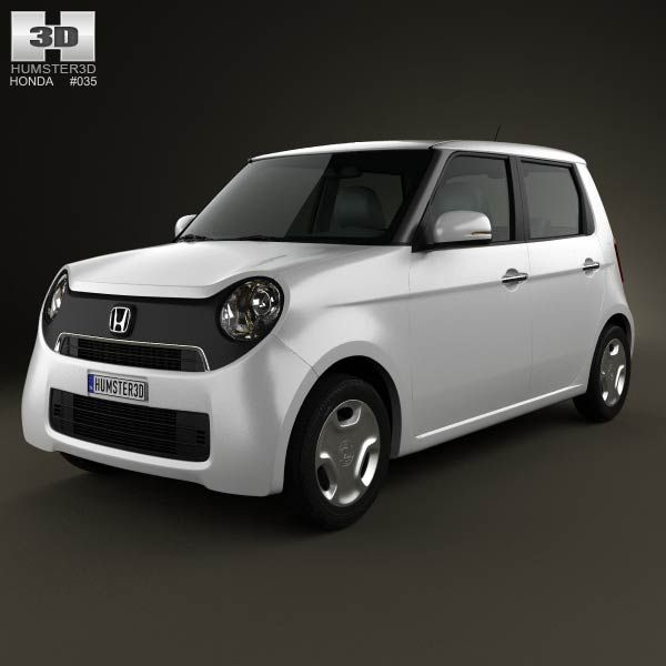 Honda N-One 2013 3d model from humster3d.com. Price: $75
