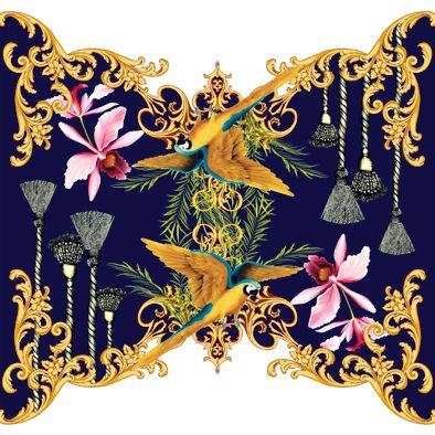 Fabric- design by  Adriana Barra ,Brasil