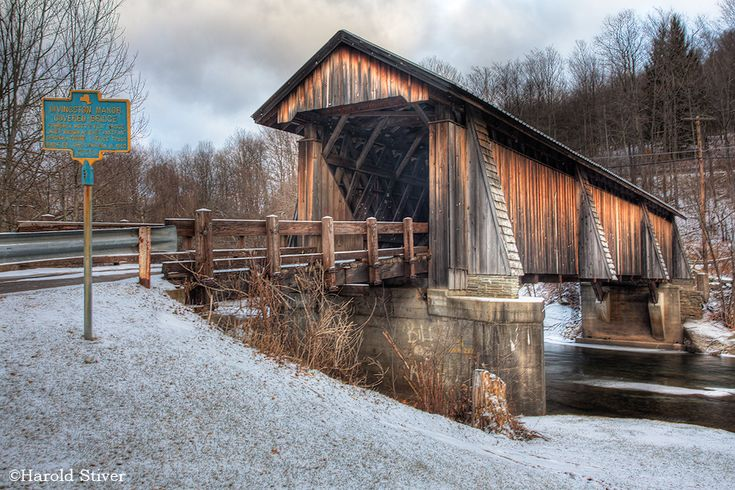 the covered bridge livingston manor | This is part of a series on New York's Covered Bridges. You can find ...