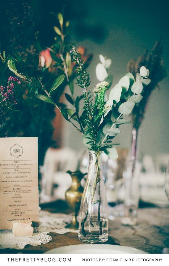 Eclectic & Enchanting: Elgin Valley Wedding | Real weddings |  Table Decor Inspiration | Photography by Fiona Clair Photography