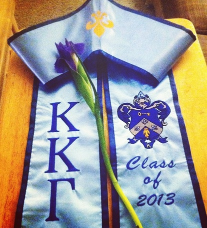 Wish our grad stoles looked this nice!