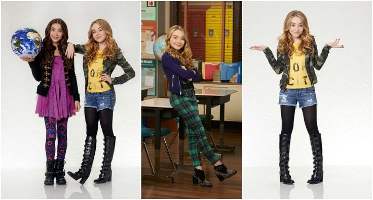 GIRL MEETS WORLD'S SUPER SABRINA!