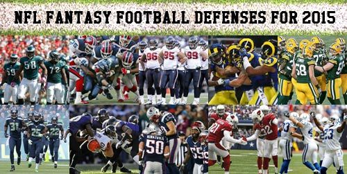 2015 NFL Fantasy Football Defense Recommendations and Predictions