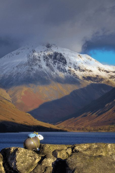 Home to England's tallest mountain, deepest lake, smallest church, and the World's Biggest Liar, have ewe been to Wasdale? #herdy #herdwick #sheep #lakedistrict