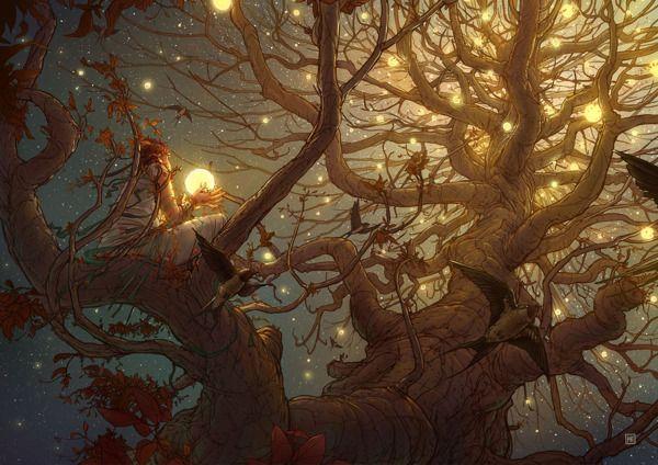 Thousand Suns - Illustration 2012 by Michal Dziekan, via Behance