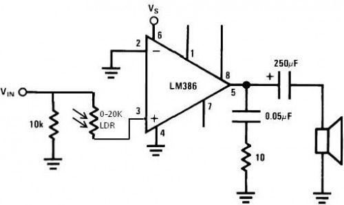 ldr engineering build circuit