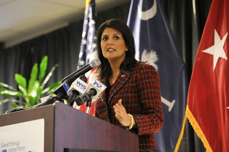 BREAKING: Nikki Haley evacuated from South Sudan amid hundreds of protestors turned violent   American Military News