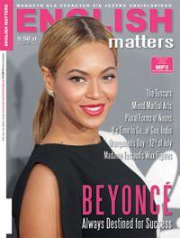 English Matters z Beyonce na okładce