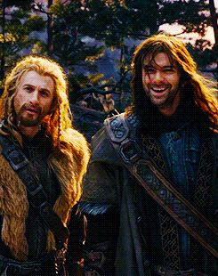 Fili & Kili. I love these two... Soo much... Even in the books they were my Favorite... *snif*...
