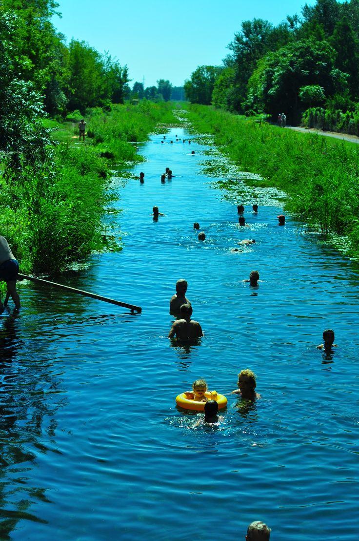 hot spring in Hungary, near Lake Balaton