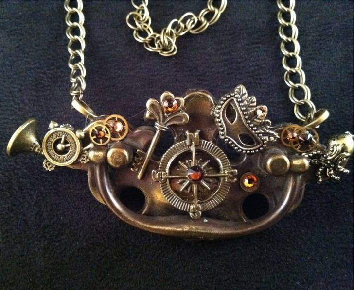 28 best Steampunk Jewelry by Steampunk Depot images on Pinterest ...