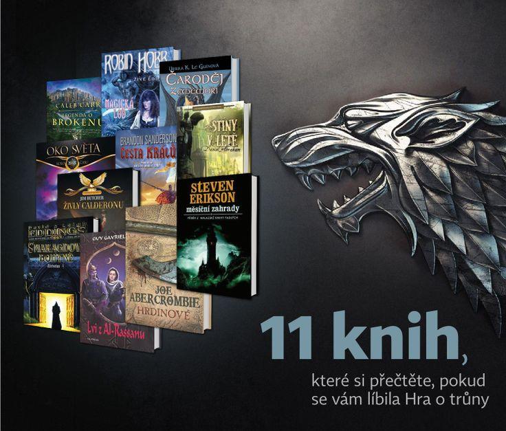 NEOLUXOR: 11 knih, které si přečtěte, pokud se vám líbila Hra o trůny