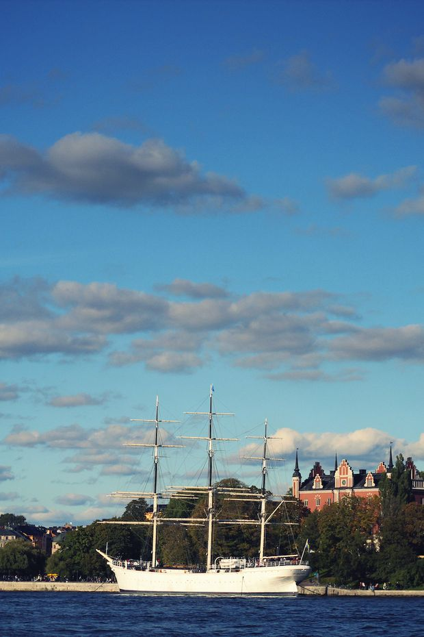 Must go sailing in Stockholm as soon as possible. #bucketlist