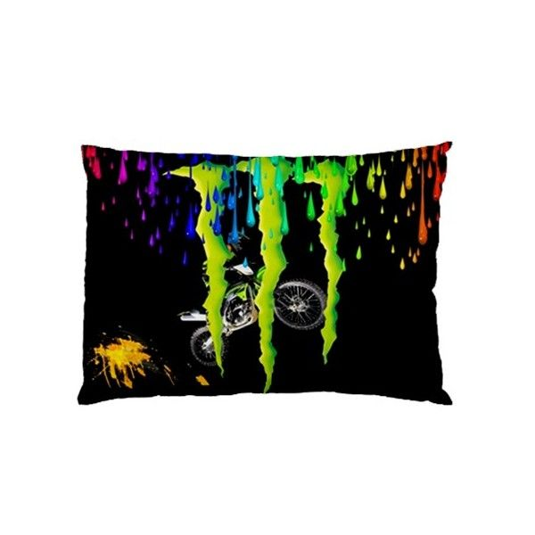 Monster Energy Rectangle Pillow Cases comfortable to sleep code ME1105