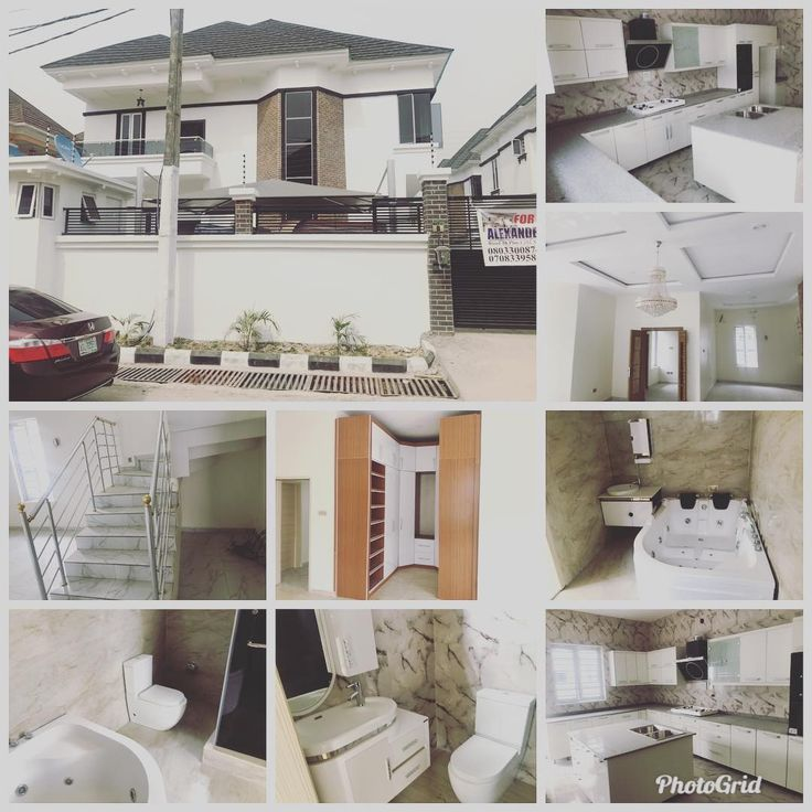 FOR SALE :- BRAND NEW/ SPACIOUS AND BEAUTIFUL 5 BEDROOM DETACHED HOUSE WITH A ROOM BQ LARGE LIVING AREAS A FULLY FITTED KITCHEN AND GENEROUS PARKING SPACE  LOCATION :- OSAPA LEKKILAGOS  ASKING PRICE :- N90M  08185137209 // 09060000255  #realestate #real #estate #house #housing #home #homes #finance #investment #building #structure #listing #sanitaryware #luxurylife #family #comfort #sale #buy #lease #rent #income #savings #design #architecture #interior #space #fittings #structure…