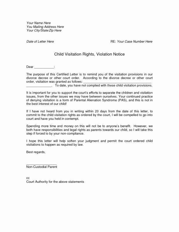 Child Custody Letter Template Unique Notarized Custody Agreement Template Custody Agreement Custody Agreement Template Child Custody Child custody letter sample