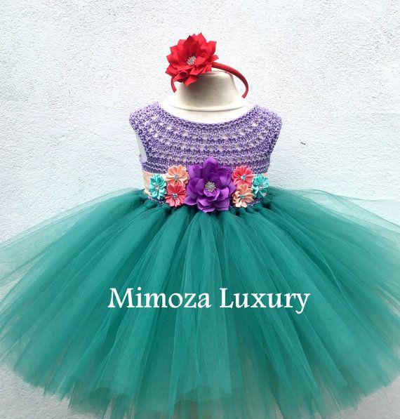El tutu Sirenita vestido vestido de la princesa por MimozaLuxury