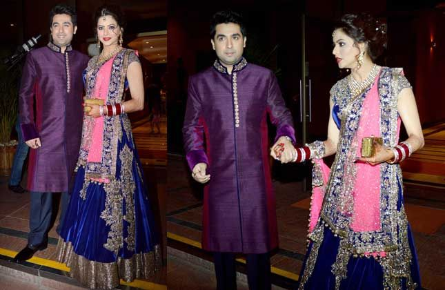 Abhay, Aamir, Hooda at Aamna Sharif's grand reception party (VIEW IN PICS)