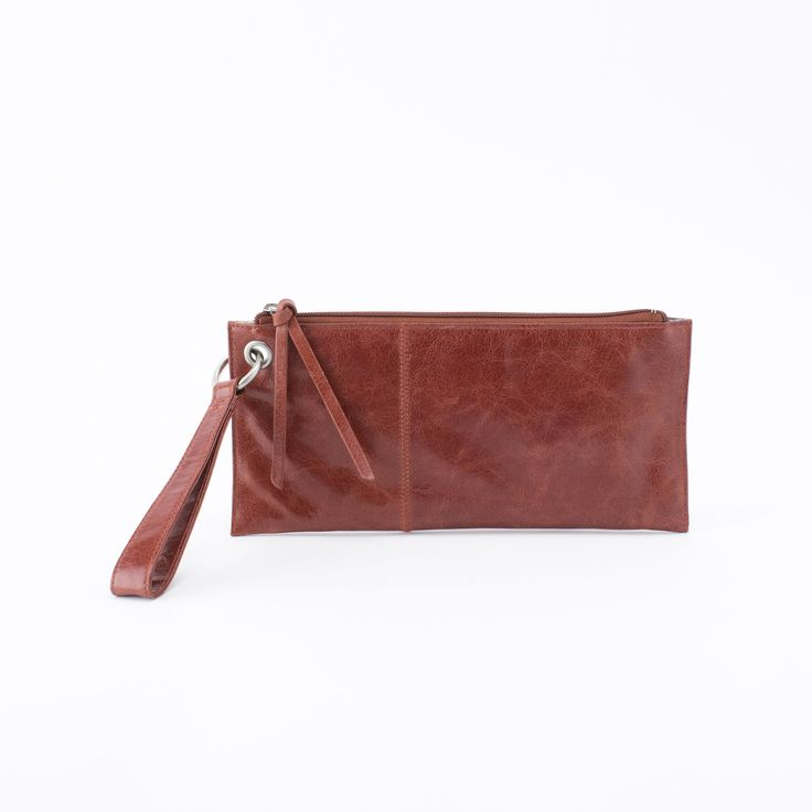 VIDA Leather Statement Clutch - Mirror, mirror by VIDA