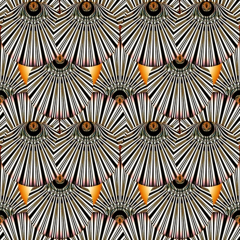 Deco Feather fabric by art_is_us on Spoonflower - custom fabric