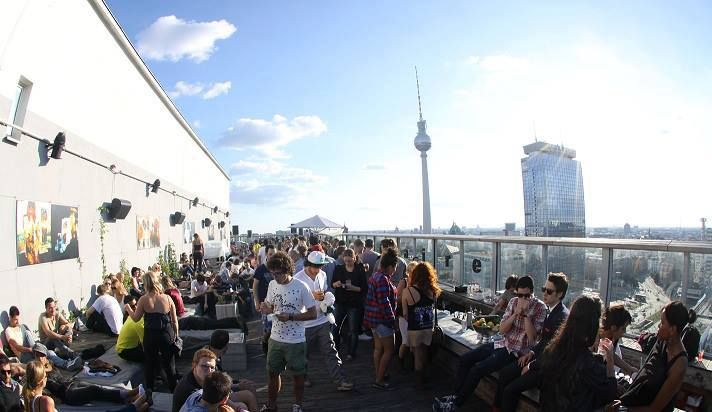 Terasse Weekend Club, Alexanderplatz