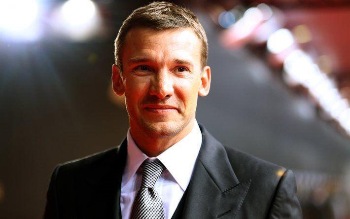 Scarica sfondi Andriy Shevchenko, stelle del calcio, ucraino calciatori, calcio
