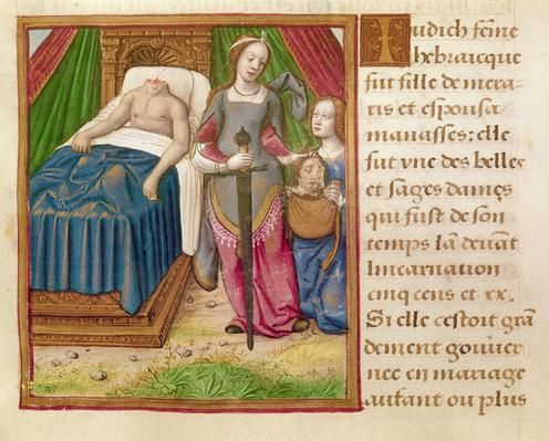 Ms 17 Judith, from 'Vie des Femmes Celebres', c.1505 | Social Studies, The Arts | Image | PBS LearningMedia
