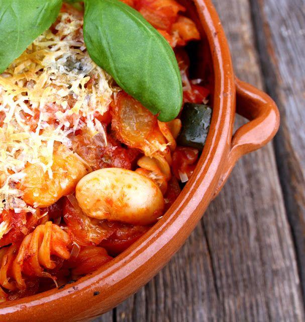 Opskrift Bagt Pasta Vegan Cheese Vegetarpasta