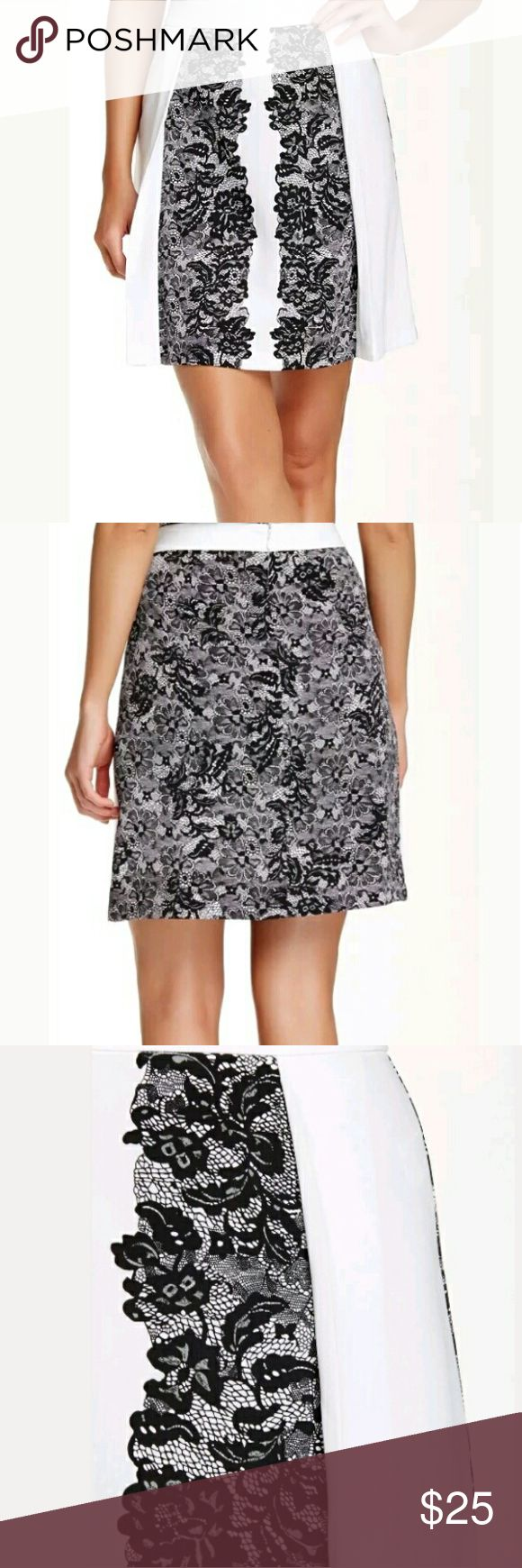 Laundry Shelli Segal Floral A Line Skirt Beautiful Skirt!! Size 8 in excellent condition! Laundry by Shelli Segal Skirts Midi