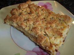 Apfelblechkuchen mit Streusel - Rezept mit Bild - kochbar.de Etwas Zimt unter die Äpfel mischen, wunderbar!