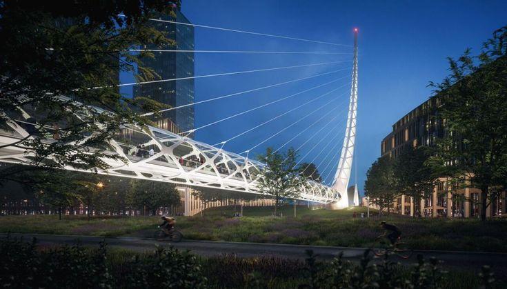Santiago Calatrava construirá su primera gran obra en Londres, una urbanización de lujo en la península de Greenwich por valor de 1.150 millones de euros.
