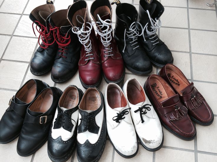 cole haan shoes red laces skinheads against racial prejudice tat
