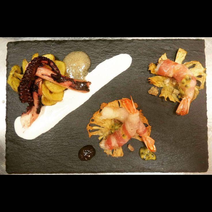 Le specialità de #lacciuganelbosco : oggi Il Polpo e il Mare