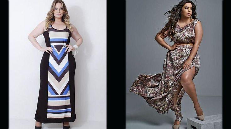 Vestidos lindos para mulheres plus size desfilarem por aí!