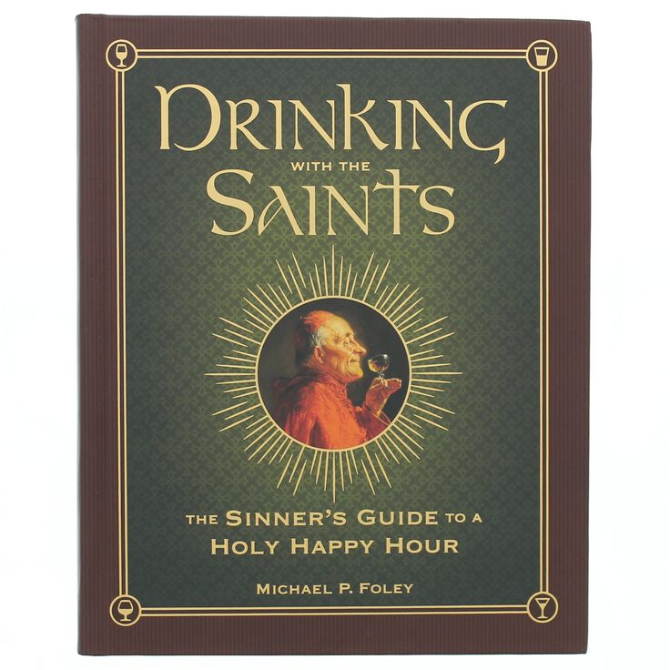 Features a drink recipe for every day of the liturgical year that has a Saint's feast day. Delicious cocktails and excellent Catholic commentary tied together with humor.