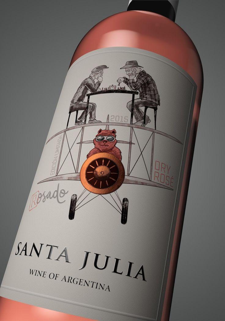 Designer: Carolina Saguan Project Type: Produced, Commercial Work Client: Santa Julia Location: Argentina Mendoza Packaging Contents: ...