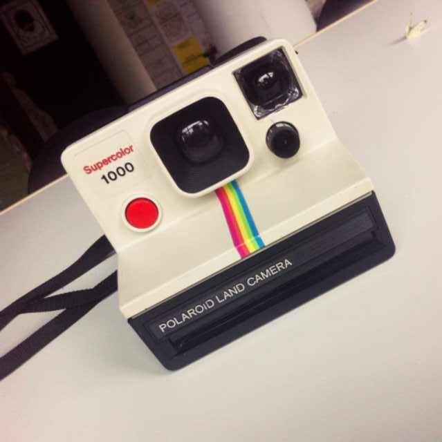 My new polaroid camera