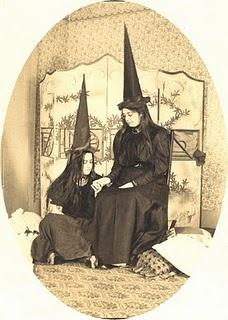 1900's vintage photo Halloween