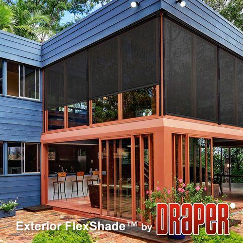 Exterior FlexShade®   Motorized :: Draper, Inc.