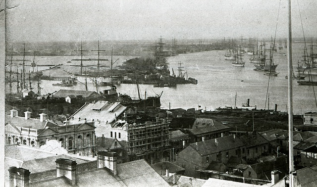 Panorama of Newcastle, NSW, [n,d,] Cultural Collections, University of Newcastle, NSW, Australia