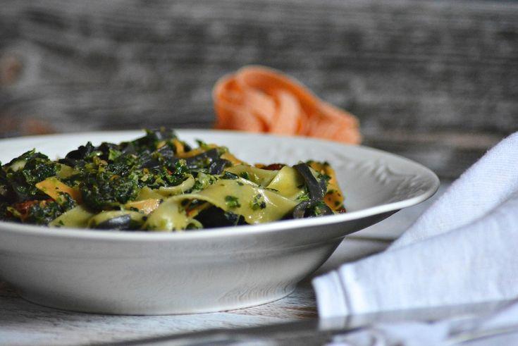 makaron ze szpinakiem, pasta, food blog, food blogger, blog kulinarny, fotografia kulinarna, food photography, food styling, przepisy
