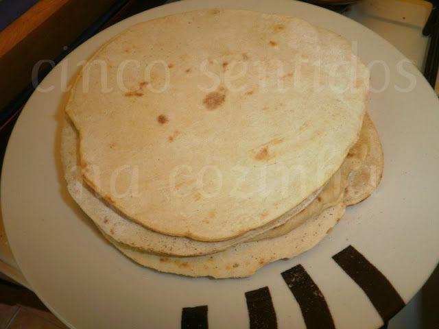 Cinco sentidos na cozinha: Wraps caseiros