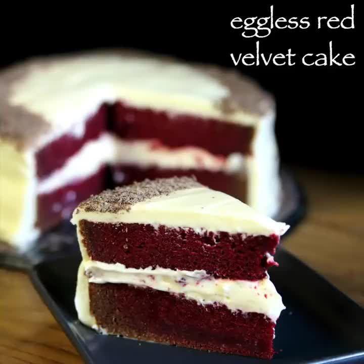 hebbar s kitchen on instagram red velvet cake recipe full recipe bit ly 2yksqlg clickable on hebbar s kitchen videos snacks id=15930