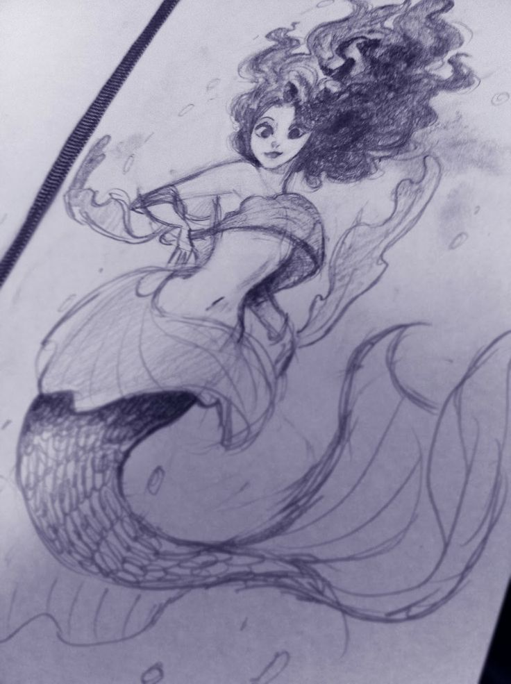 my mermaid WIP