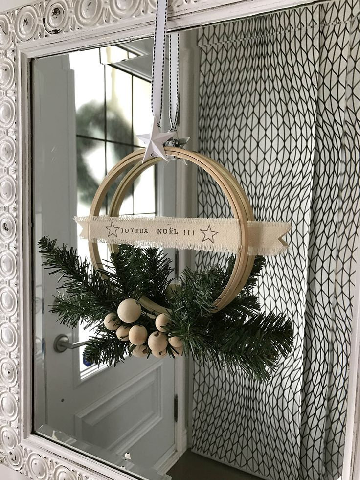 DIY – Couronne de Noël minimaliste | AVDD | Chloé Comte