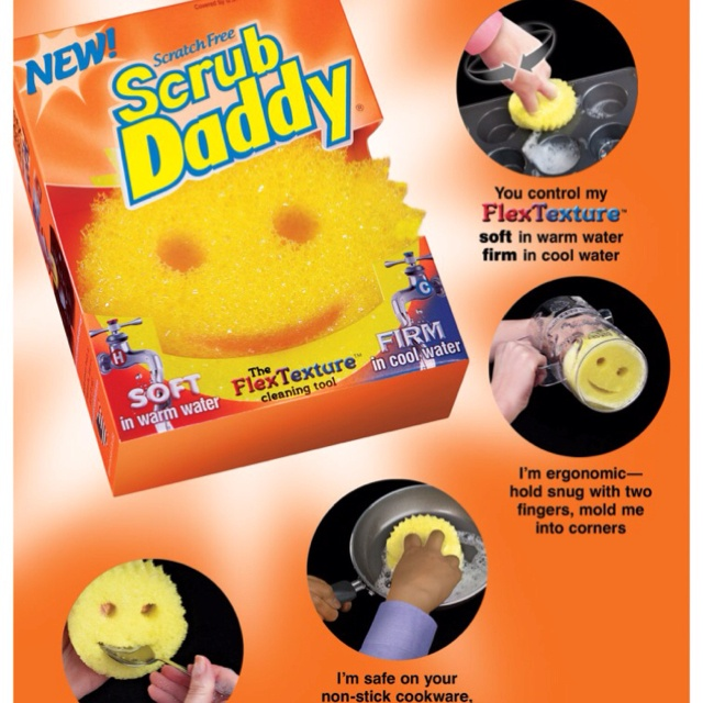 'Scrub Daddy Uses: 50+ Creative Ways To Use A Scrub Daddy Sponge...!' (via The Household Tips Guide)