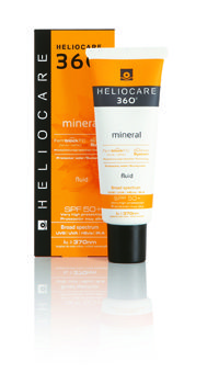 The latest addition to the Heliocare 360 range of anti-ageing, UV protection products;  Heliocare 360˚ Mineral: The ultimate, breathable anti-ageing skin protection.