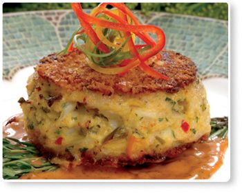 Blue Crab Cakes with Tangy Butter Sauce - Florida Department of Agriculture and Consumer Services