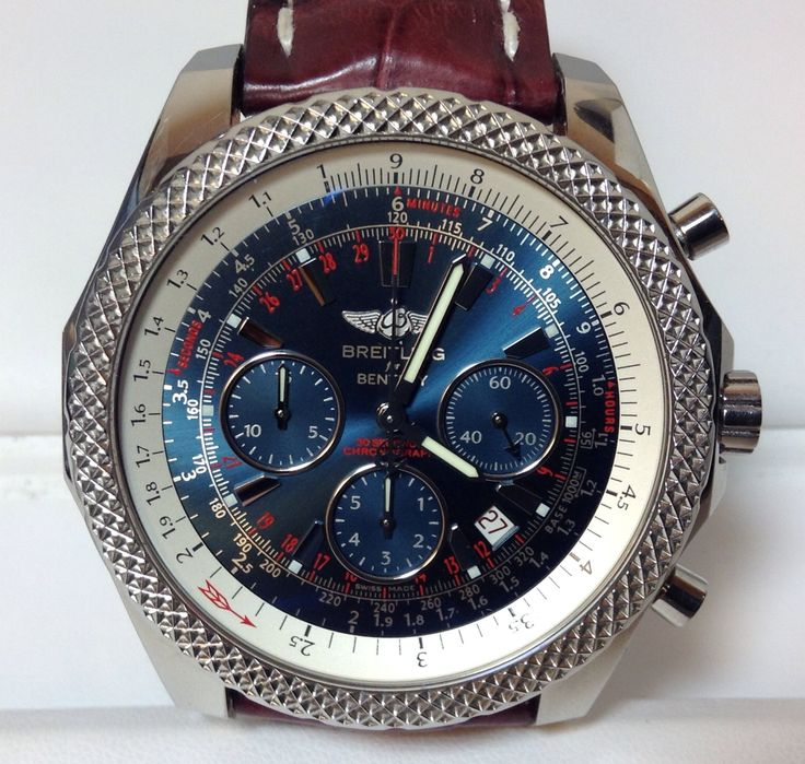 About the Watch: This is a Breitling Bentley with automatic movement mechanism, a 48.