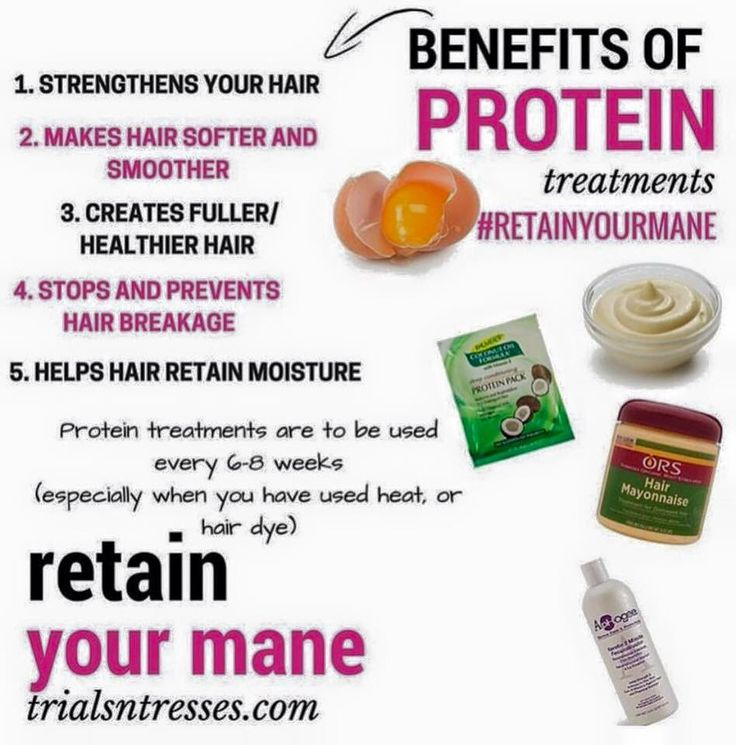 Your hair needs protein as much as it needs moisture ...